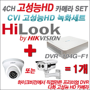 [EVENT] [CVI HD] DVR-104G-F1 4CH + HD 카메라 1개 SET
